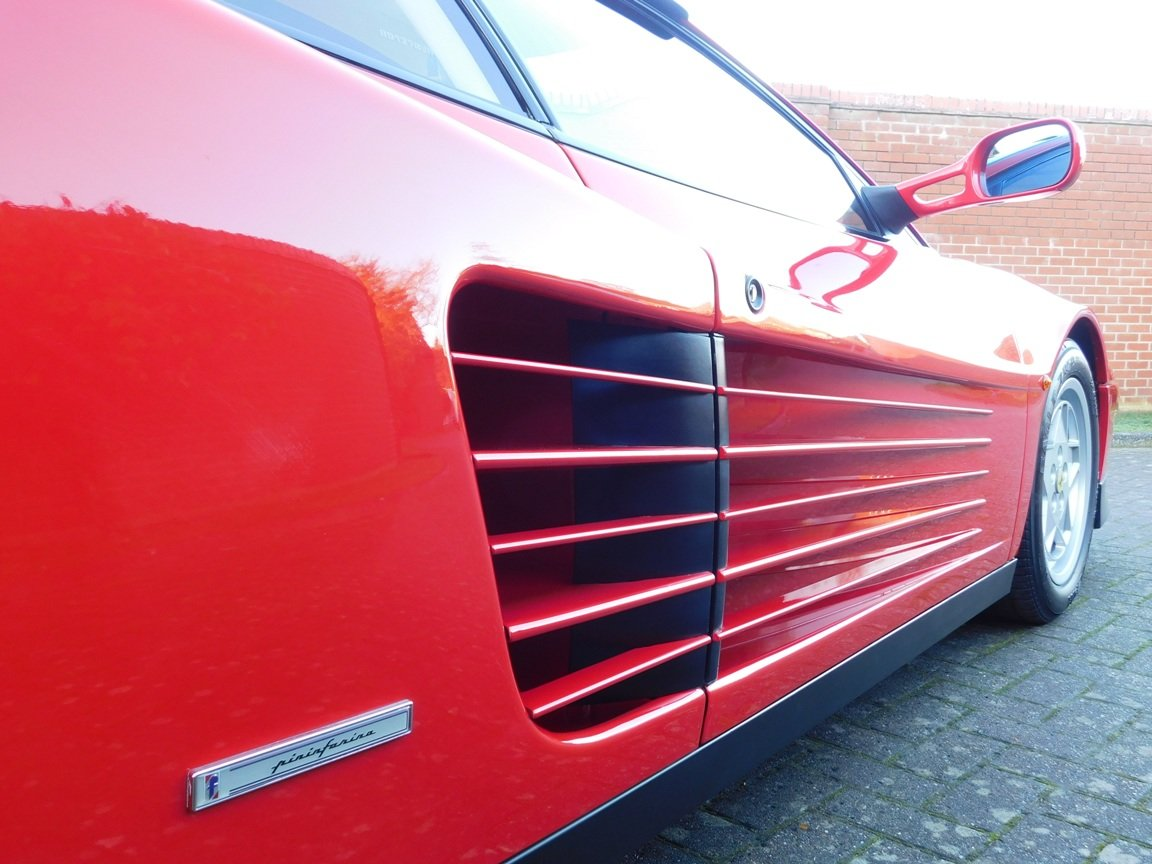 1991 Ferrari Testarossa (RHD) ONLY 3619 Miles From New For Sale (picture 18 of 20)