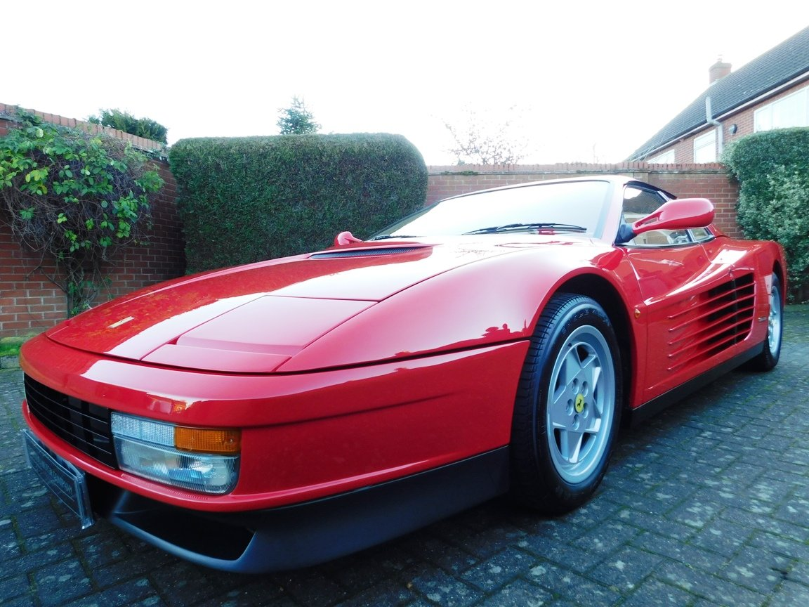 1991 Ferrari Testarossa (RHD) ONLY 3619 Miles From New For Sale (picture 20 of 20)