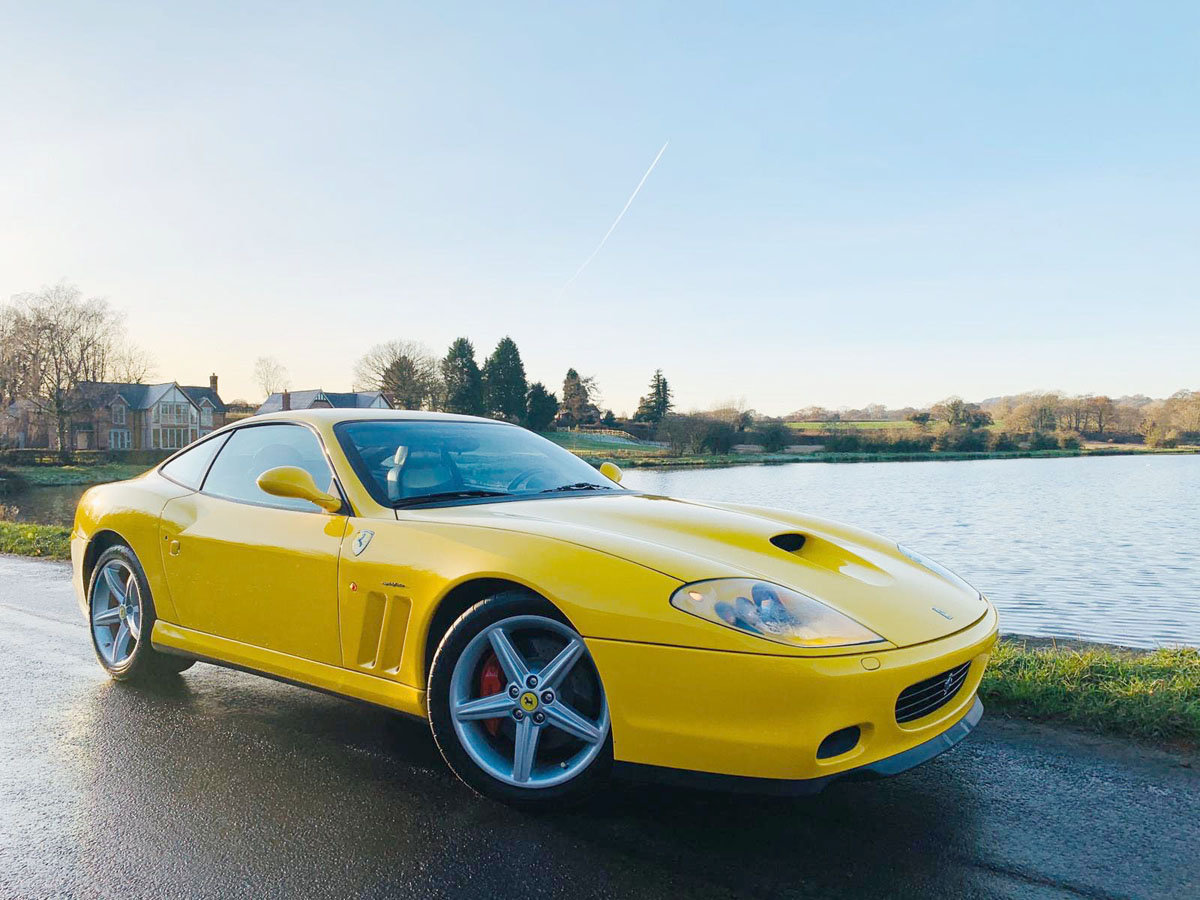 2003 Ferrari 575M Fiorano Edition 17 Jan 2020 For Sale by Auction (picture 1 of 5)