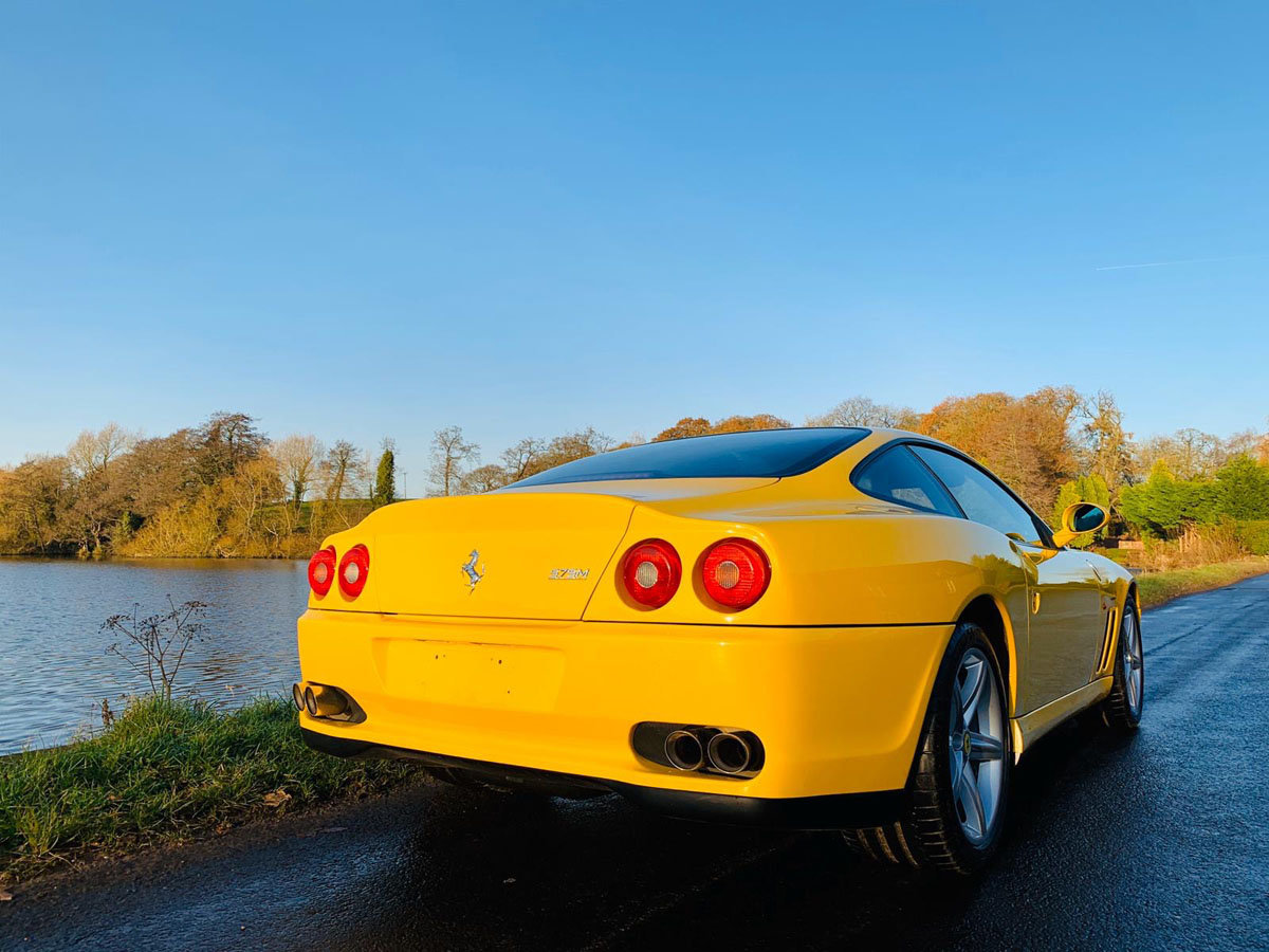 2003 Ferrari 575M Fiorano Edition 17 Jan 2020 For Sale by Auction (picture 2 of 5)