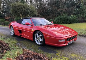 FERRARI F355 SPIDER - MANUAL - 23900 MILES - LHD