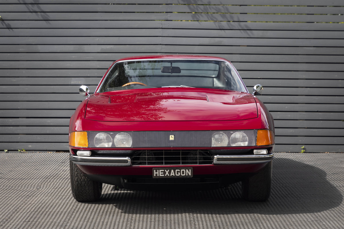 1971 FERRARI DAYTONA PLEXI GLASS UK FERRARI CLASSICHE CERTIFIED For Sale (picture 4 of 24)