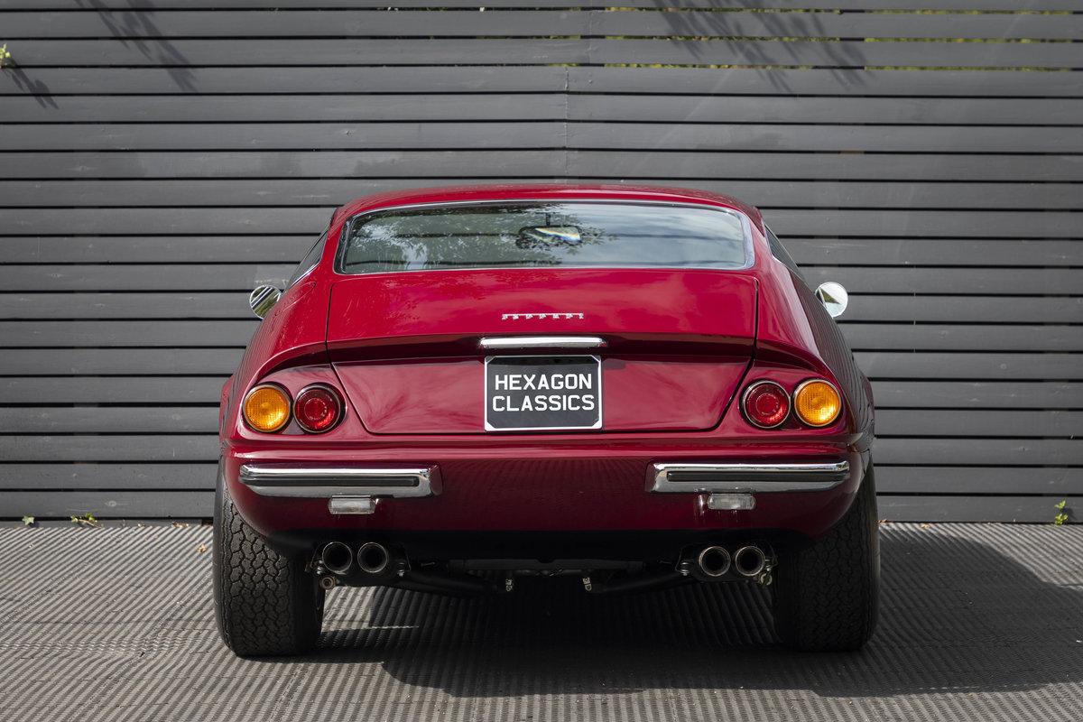 1971 FERRARI DAYTONA PLEXI GLASS UK FERRARI CLASSICHE CERTIFIED For Sale (picture 5 of 24)