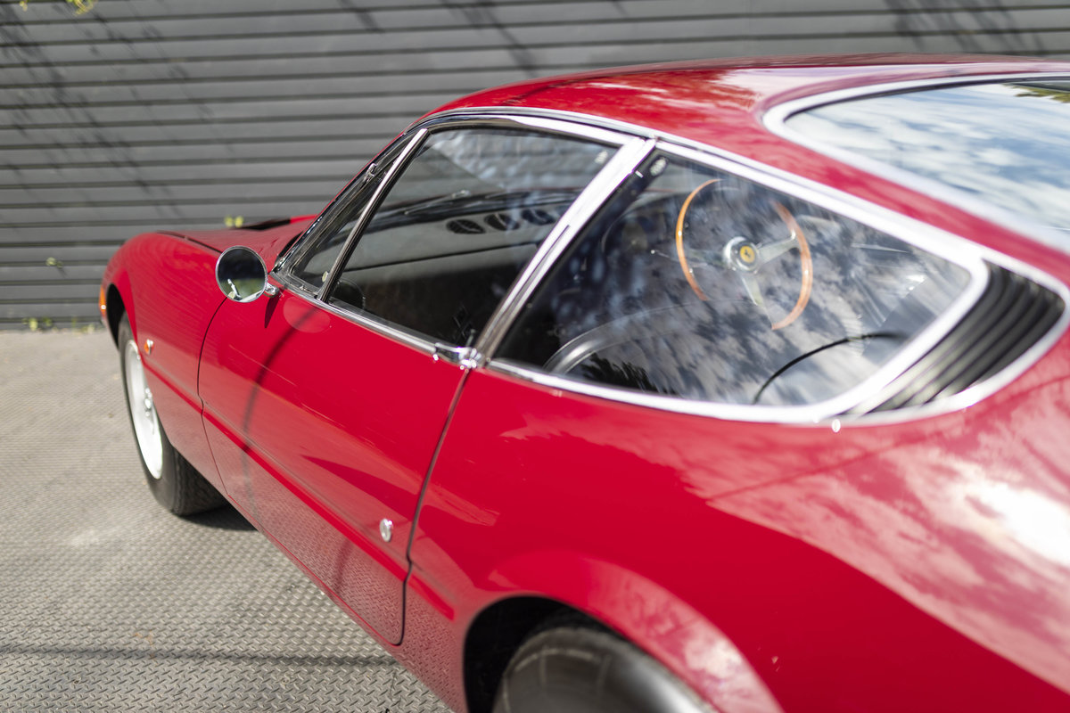 1971 FERRARI DAYTONA PLEXI GLASS UK FERRARI CLASSICHE CERTIFIED For Sale (picture 10 of 24)