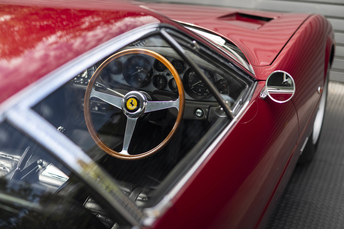 1971 FERRARI DAYTONA PLEXI GLASS UK FERRARI CLASSICHE CERTIFIED For Sale (picture 13 of 24)