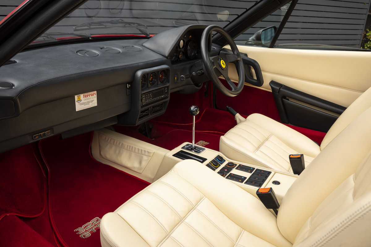 1989 FERRARI 328 GTS  ONLY 22250 MILES (ABS MODEL) For Sale (picture 8 of 23)