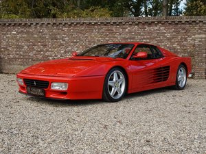 1992 Ferrari 512 TR only 48.012 kms! Recently provided with new c