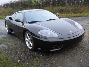 2002 Ferrari 360 -Serviced - Belts Done. LHD Black