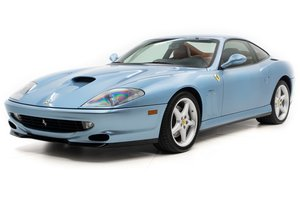 2000 Ferrari 550 Maranello 6 spd Manual Blue(~)Tan $124.5k