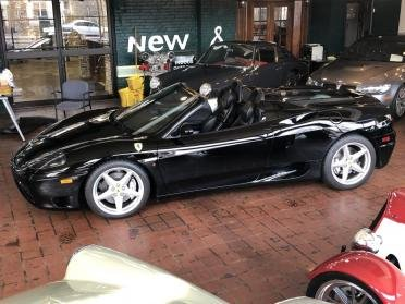 2001 Ferrari F360 Spider Fiorano F1 Clean All Black  $84.9k