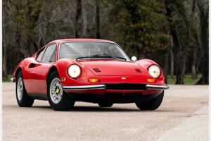 1972 Ferrari 246 GT Dino Coupe Rare 1 of 116 made $284.5k