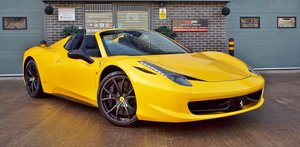 2012 Ferrari 458 4.5 V8 Spider - Giallo Triplo Strato For Sale