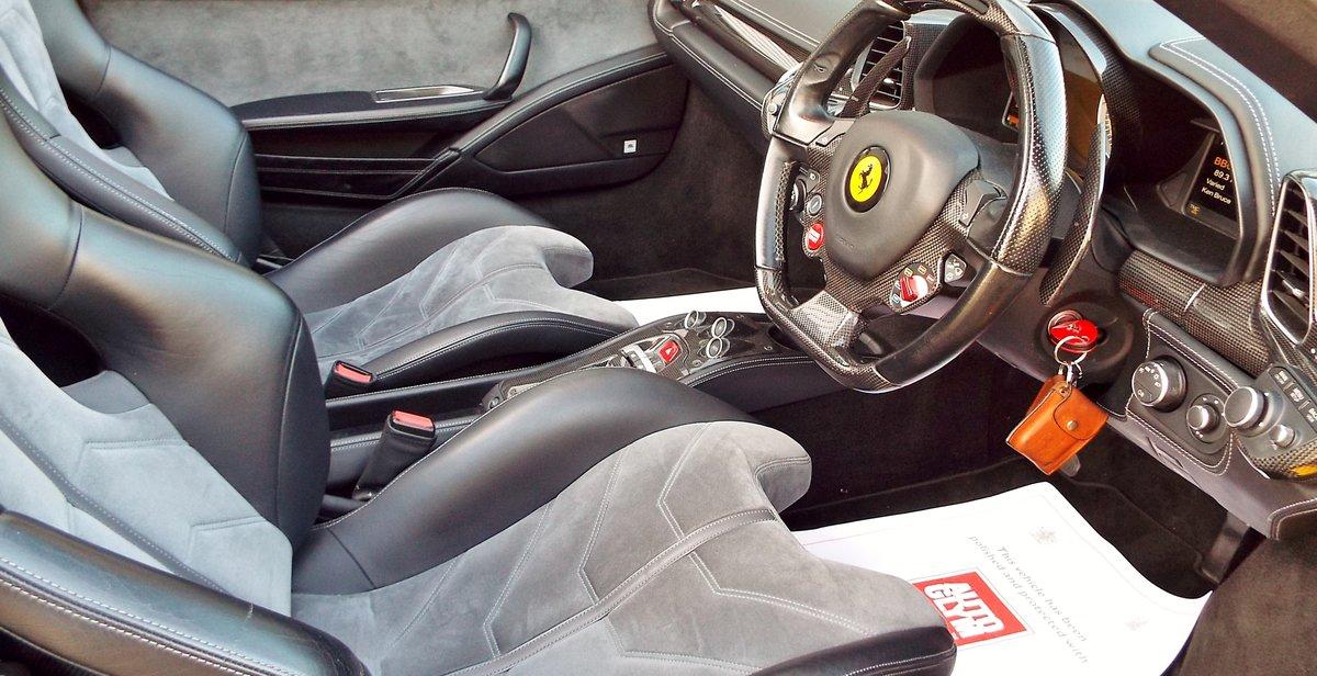 2012 Ferrari 458 4.5 V8 Spider - Giallo Triplo Strato For Sale (picture 2 of 6)