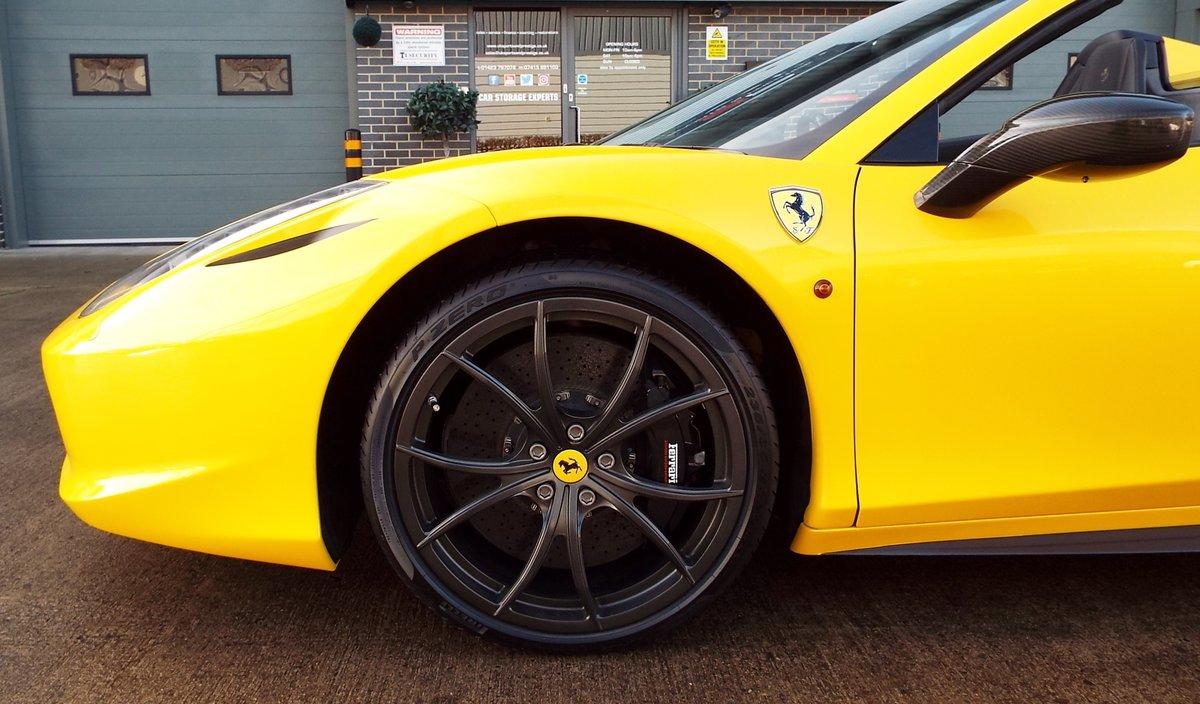 2012 Ferrari 458 4.5 V8 Spider - Giallo Triplo Strato For Sale (picture 6 of 6)