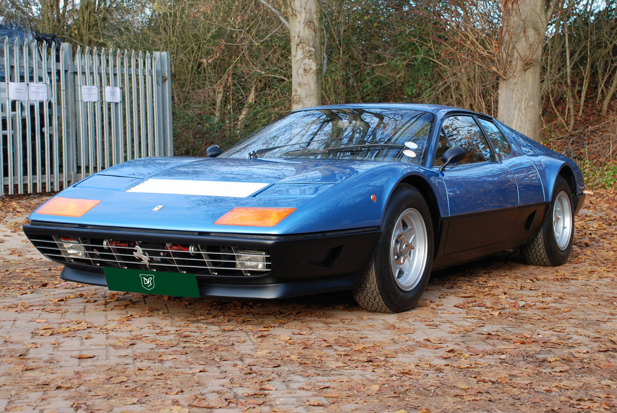 1979 Ferrari 512 BB, fully restored, with just 22,000 miles For Sale (picture 1 of 6)