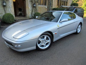 1999 SOLD-Another required. Ferrari 456 M GT six speed manual. For Sale