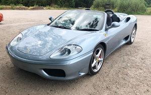 2004 Ferrari 360 Modena F1 22 Feb 2020 For Sale by Auction