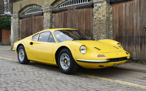 """1970 Ferrari 246 GT """"Dino"""" 22 Feb 2020 For Sale by Auction"""