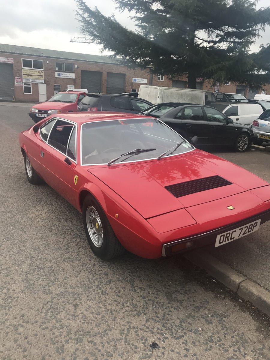 1975 Ferrari Dino 308 Gt4 SOLD (picture 1 of 6)