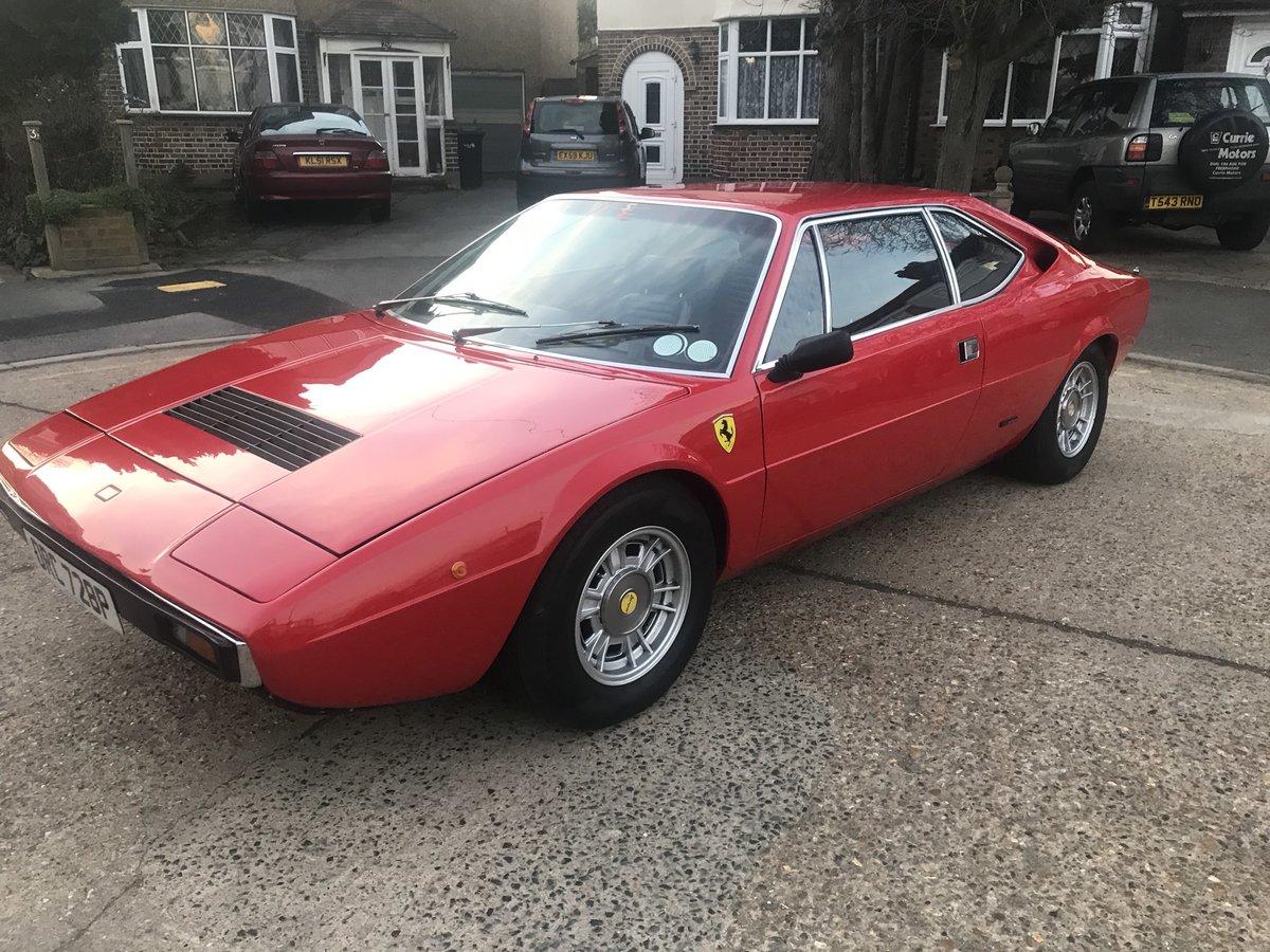 1975 Ferrari Dino 308 Gt4 SOLD (picture 2 of 6)