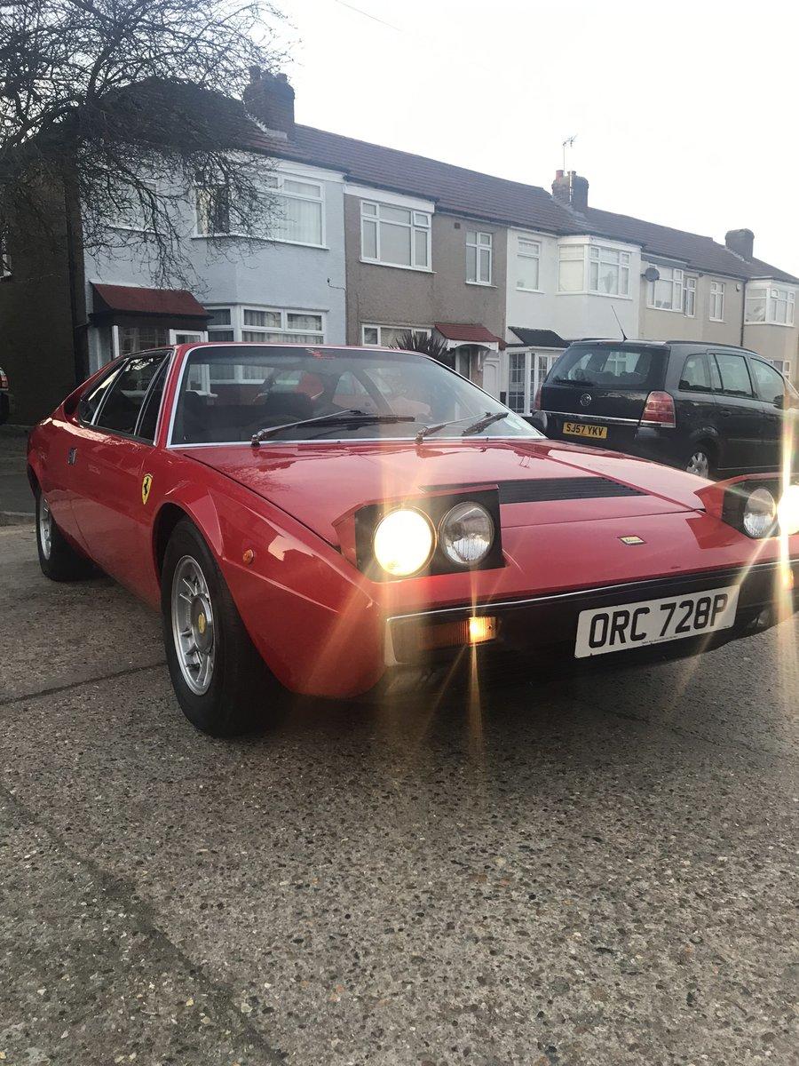 1975 Ferrari Dino 308 Gt4 SOLD (picture 4 of 6)
