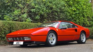 1987 FERRARI 328 GTB  Pre ABS 1 of only 77 UK RHD examples built For Sale