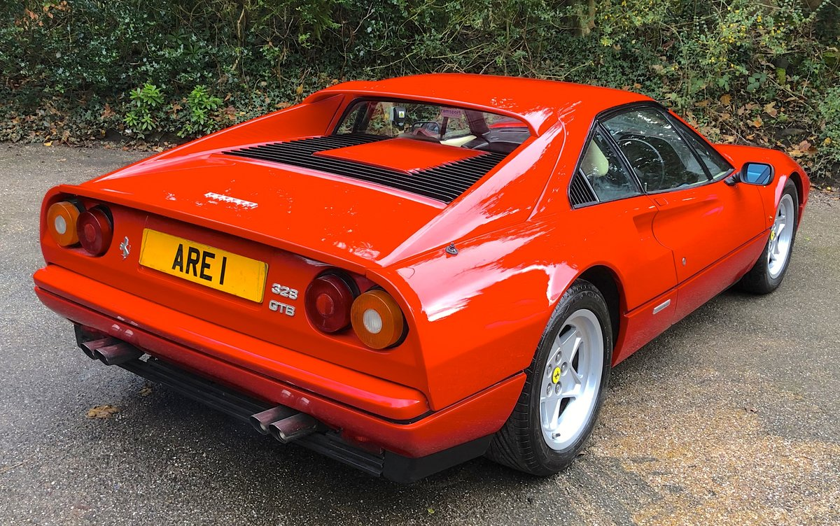1987 FERRARI 328 GTB  Pre ABS 1 of only 77 UK RHD examples built For Sale (picture 3 of 6)