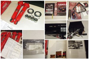 0000 FERRARI PARTS MEMOROBILIA, PICTURES AND BOOKS FOR SALE For Sale