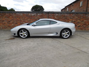 2001 FERRARI 360 COUPE MANUAL RHD, Only 21,000 Miles For Sale