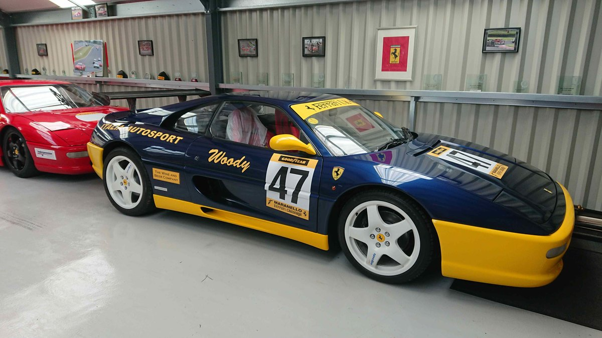 1995 Ferrari 355 challenge 1 of only 11 rhd cars For Sale (picture 1 of 5)