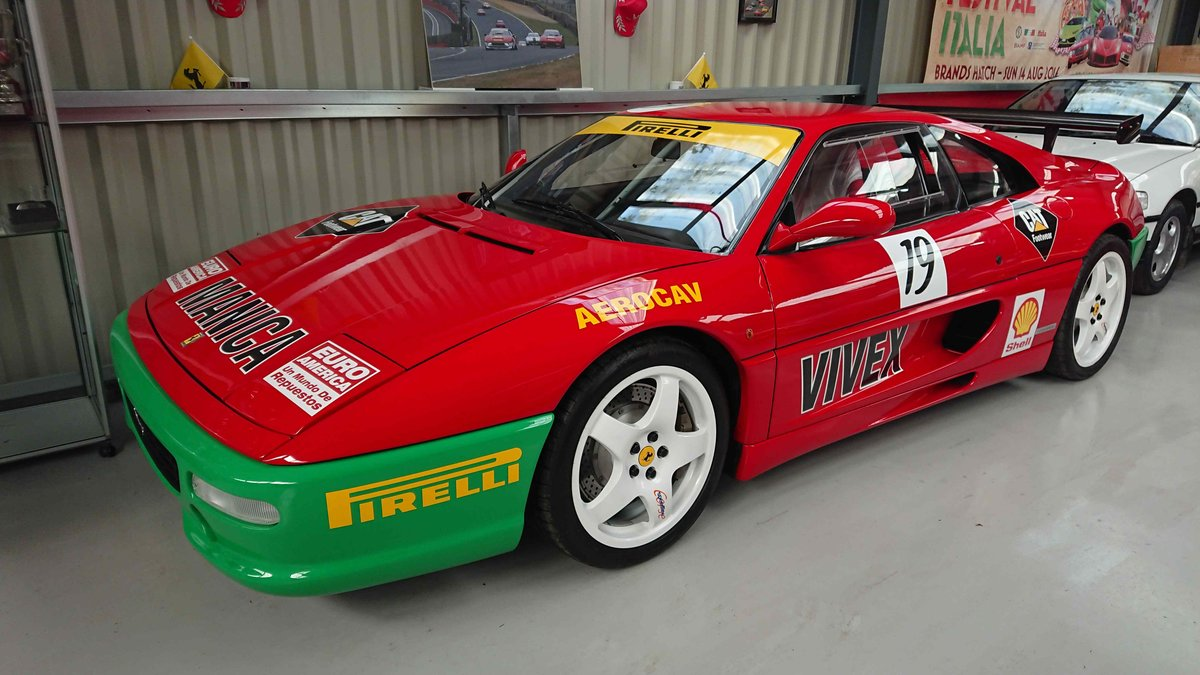 1995 Premium Ferrari 355 challenge, investor quality.  For Sale (picture 1 of 5)