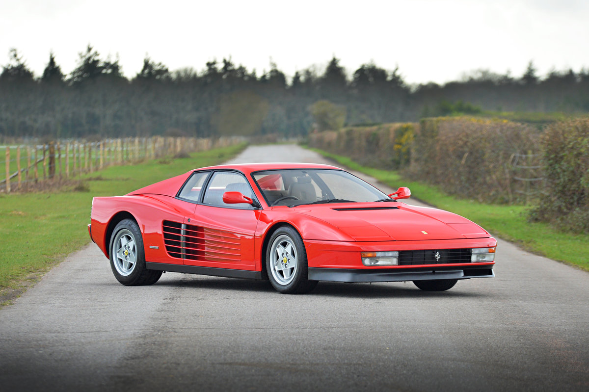 Ferrari Testarossa 1991 UK Supplied Car THE BEST! For Sale (picture 1 of 6)