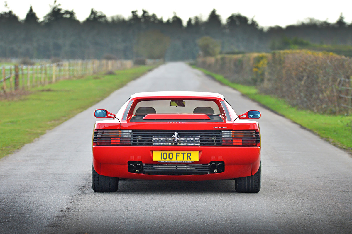 Ferrari Testarossa 1991 UK Supplied Car THE BEST! For Sale (picture 4 of 6)