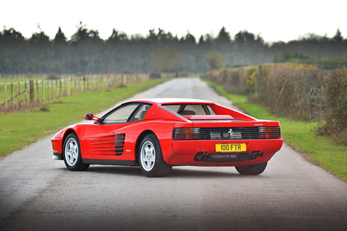Ferrari Testarossa 1991 UK Supplied Car THE BEST! For Sale (picture 5 of 6)