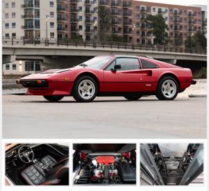1985 Ferrari 308 GTS Quattrovalvole Correct Work Done $78.5k