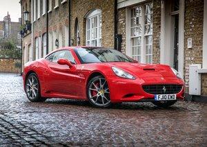 2010 Ferrari California SOLD by Auction
