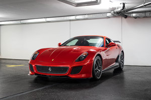 2011 Ferrari 599 GTO - 3,600 Miles For Sale
