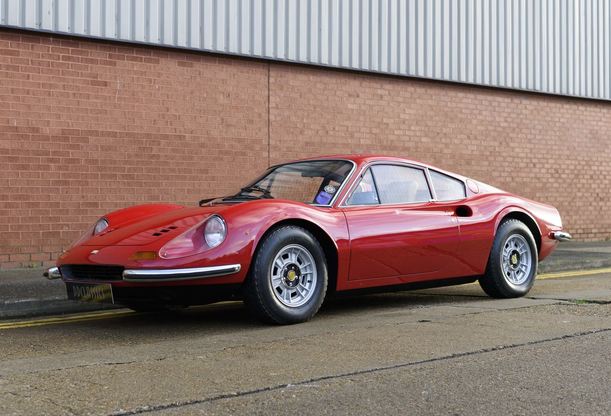 1972 Ferrari Dino 246 GT (RHD) For Sale (picture 1 of 24)