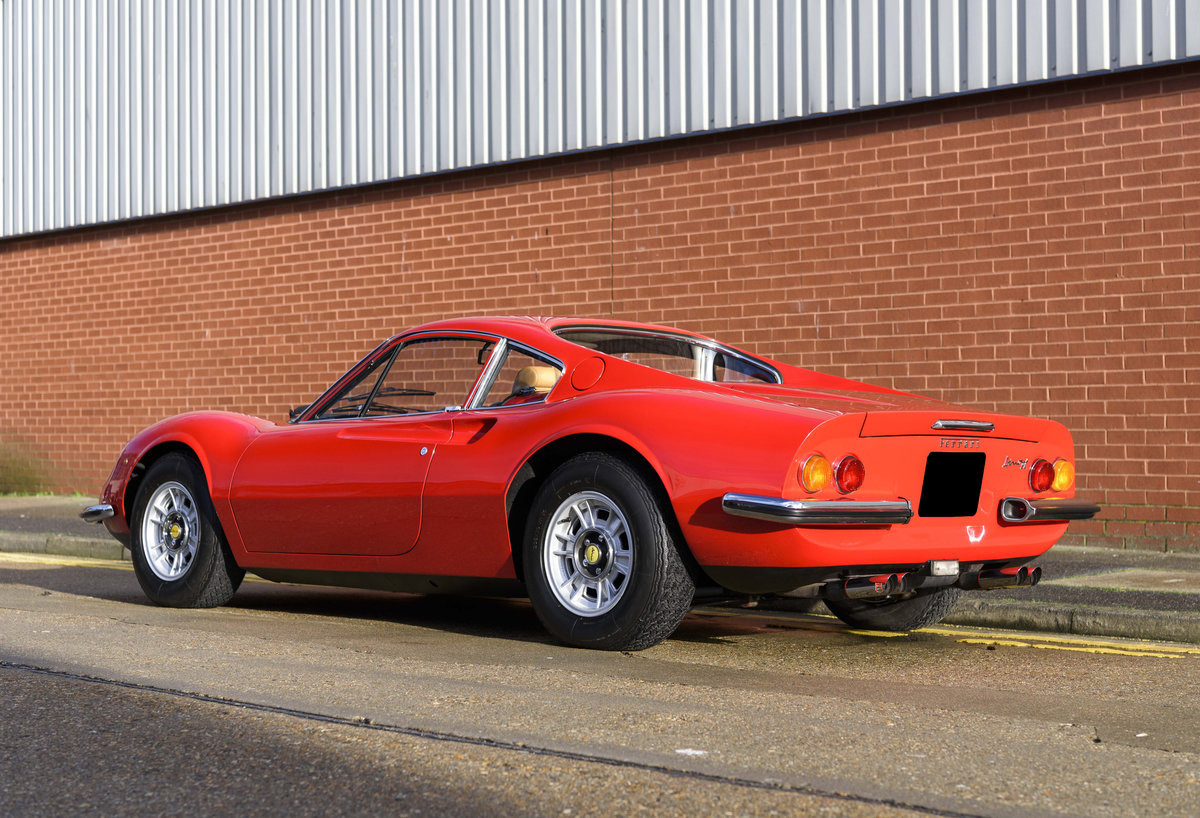 1972 Ferrari Dino 246 GT (RHD) For Sale (picture 4 of 24)