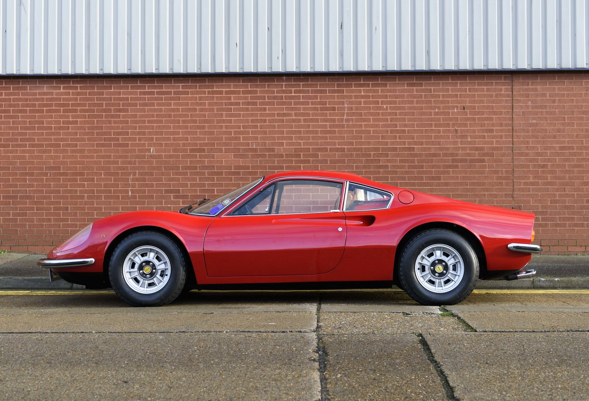 1972 Ferrari Dino 246 GT (RHD) For Sale (picture 6 of 24)
