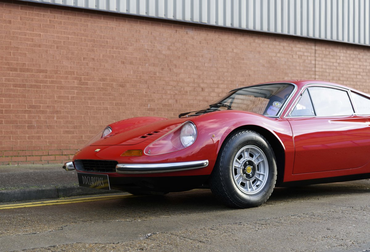 1972 Ferrari Dino 246 GT (RHD) For Sale (picture 9 of 24)