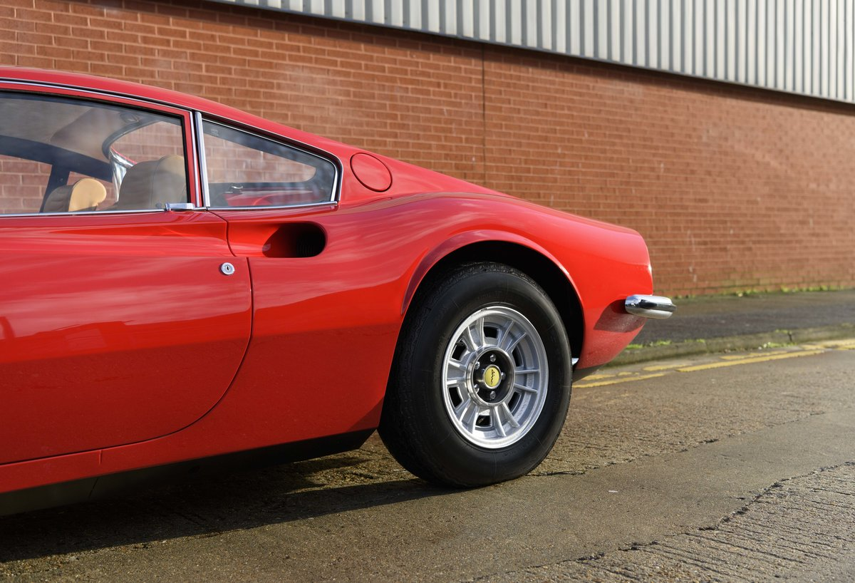 1972 Ferrari Dino 246 GT (RHD) For Sale (picture 10 of 24)