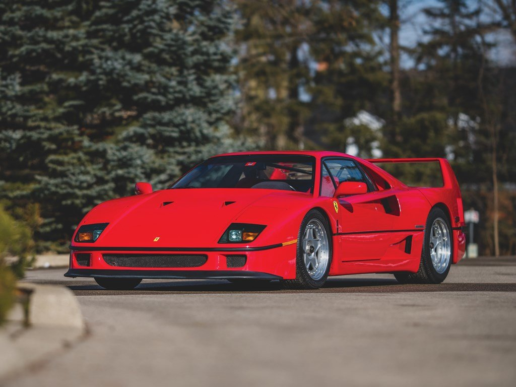 1992 Ferrari F40  For Sale by Auction (picture 1 of 6)