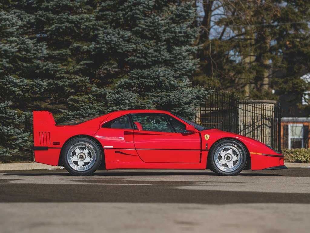 1992 Ferrari F40  For Sale by Auction (picture 5 of 6)