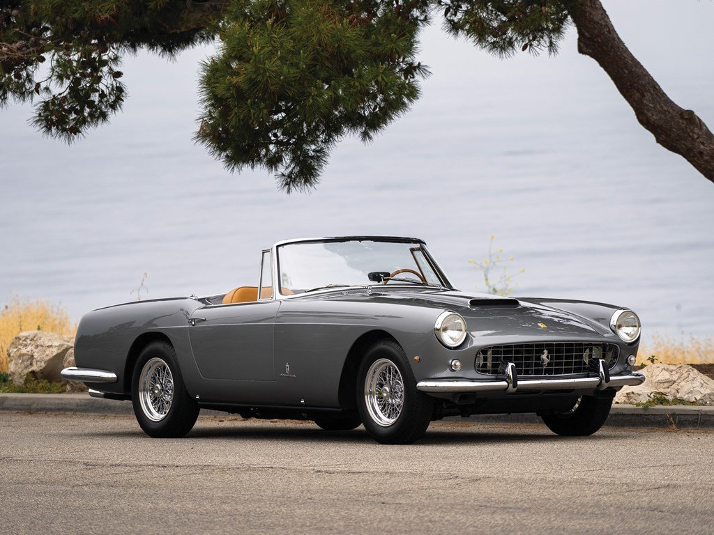 1961 Ferrari 250 GT Cabriolet Series II by Pininfarina For Sale by Auction (picture 1 of 6)