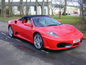 2006 FERRARI 430 F1 SPIDER - LOW MILES! - UK CAR!