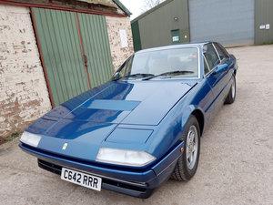 1986 Ferrari 412 For Sale by Auction