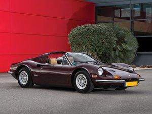 1973 Ferrari Dino 246 GTS by Scaglietti For Sale by Auction
