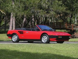 1984 Ferrari Mondial Cabriolet  For Sale by Auction