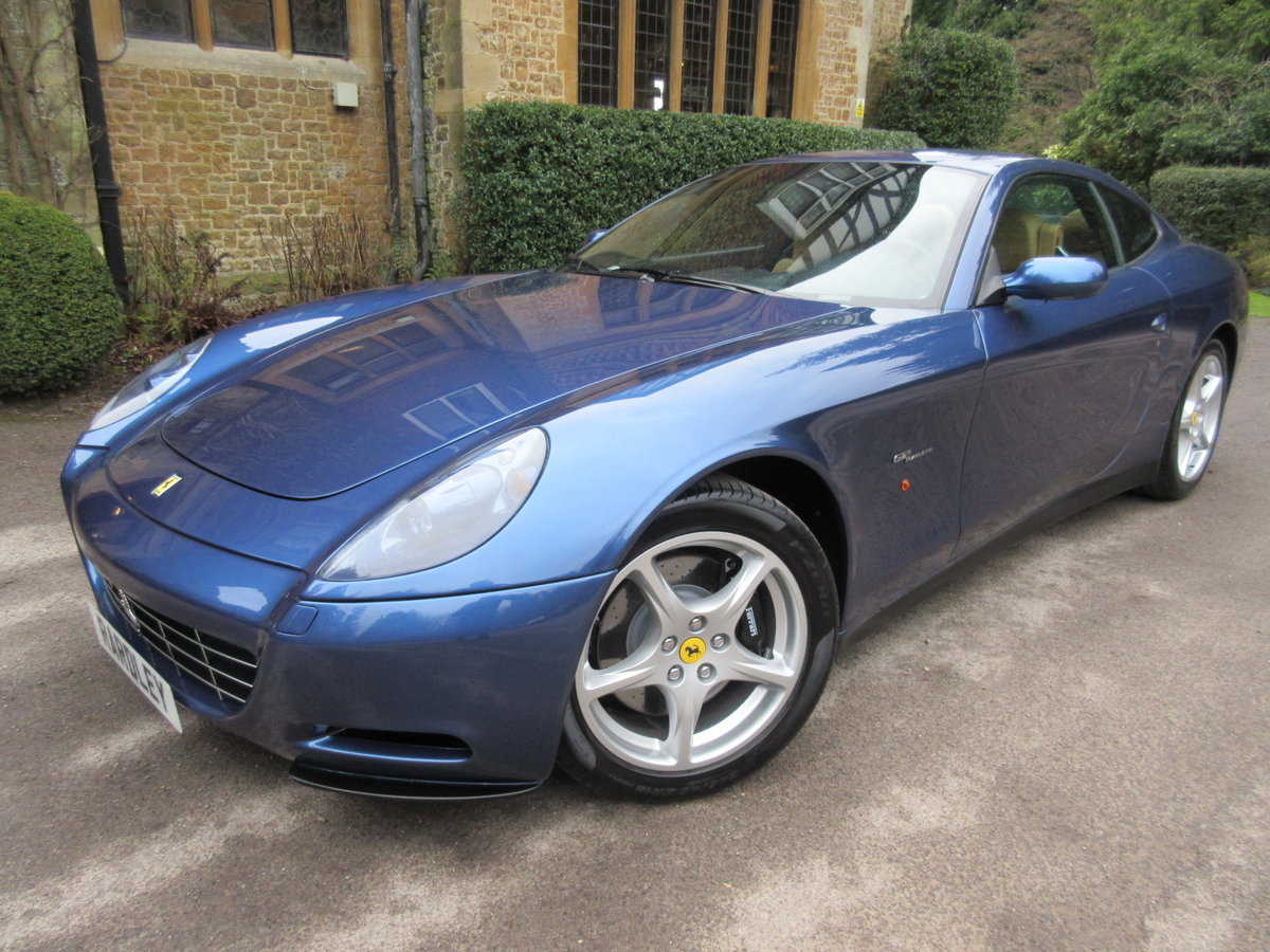 2004 SOLD ANOTHER REQUIRED Ferrari 612 F1 -Left hand drive For Sale (picture 1 of 6)